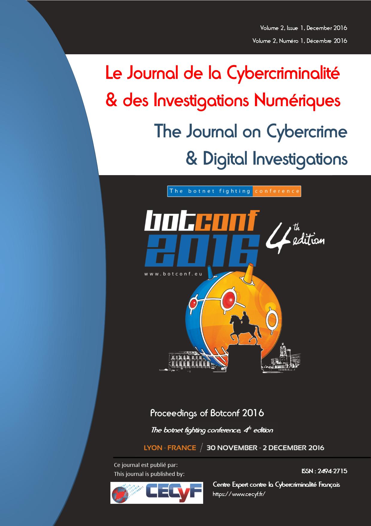 Cover Botconf 2016